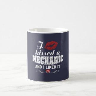 I kissed a MECHANIC Coffee Mug