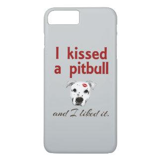 I Kissed a Pitbull iPhone 7 Plus Case