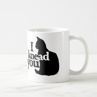 I knead you coffee mug