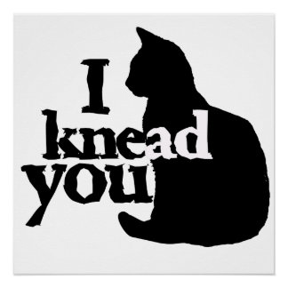 I knead you perfect poster