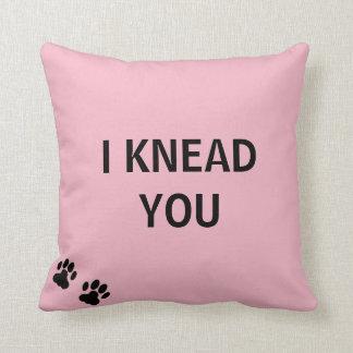I Knead You Pillow
