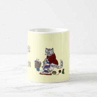I knit because... I cannot stop Coffee Mug