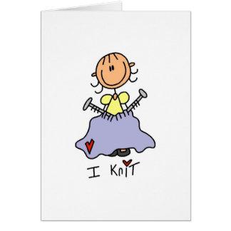 I Knit Card