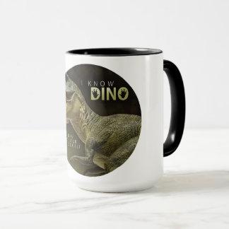 I Know Dino logo Mug
