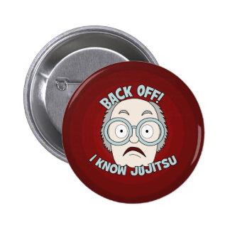 I Know Jujitsu! 2 Inch Round Button