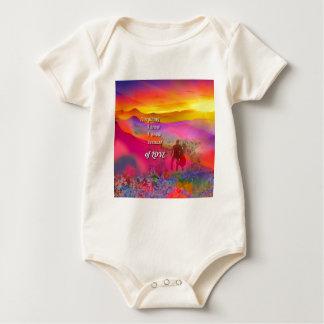 I know that I love you Baby Bodysuit