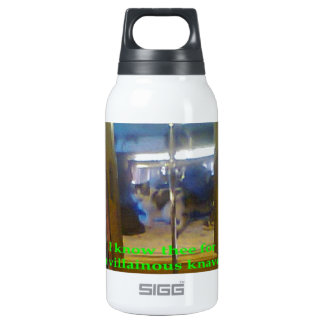 I know thee insulated water bottle