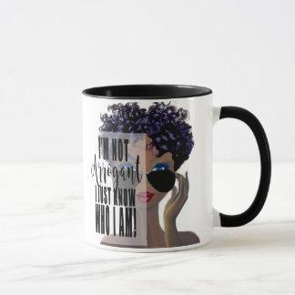 I Know Who I Am Empowerment Mug