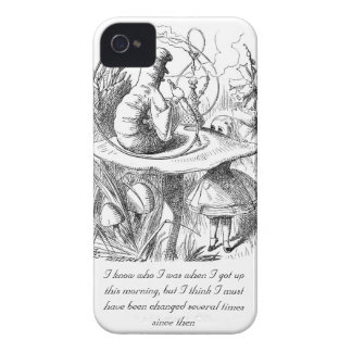 I Know Who I Was When I Got Up iPhone 4 Case