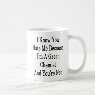 I Know You Hate Me Because I'm A Great Chemist And Coffee Mug