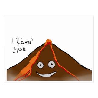 I Lava You - Set of Postcards