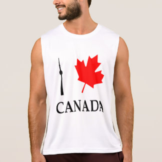 I Leaf (Love) Canada - Running Tank Top