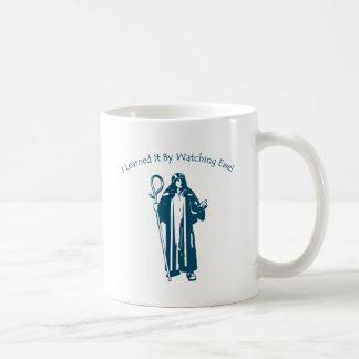 I Learned It By Watching Ewe! Classic White Coffee Mug