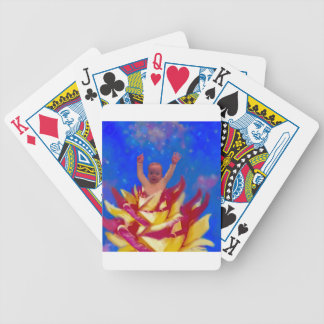I left for a moment to tell you I love you. Bicycle Playing Cards