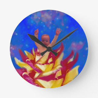 I left for a moment to tell you I love you. Wallclocks