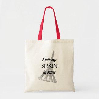 I left my Birkin in Paris BAG