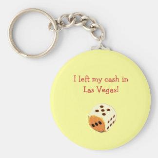 I left my cash in Las Vegas! Keychain