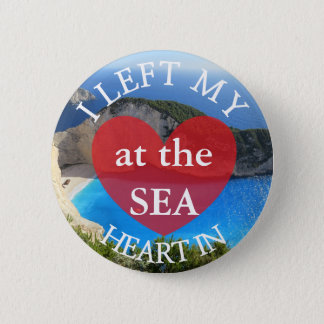 I Left my Heart iat the Sea Button