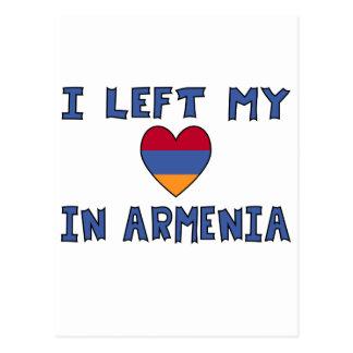 I Left My Heart in Armenia Postcard