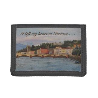 """""""I left my heart in Firenze"""" Nylon Wallet"""