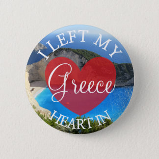 I Left my Heart in Greece Button