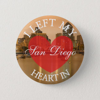 I Left my Heart in San Diego Button