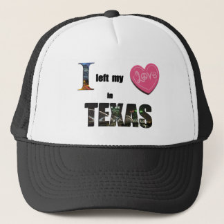 I left my heart in Texas - Love Gift Cap Hat