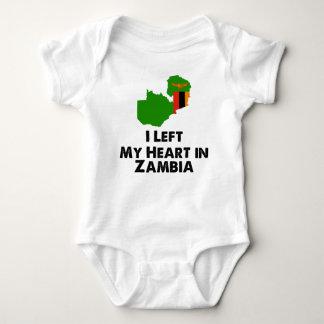 I Left My Heart in Zambia Baby Bodysuit