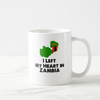 I Left My Heart in Zambia Coffee Mug