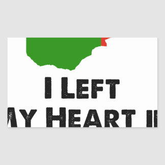 I Left My Heart in Zambia Sticker