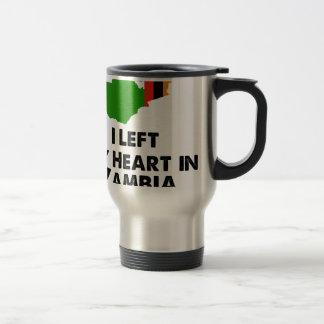 I Left My Heart in Zambia Travel Mug