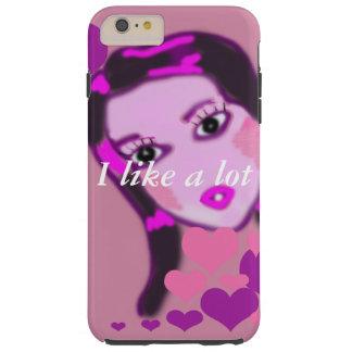 I like a lot tough iPhone 6 plus case