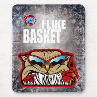I Like Basket Mouse Pad