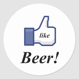 I LIKE BEER! STICKERS