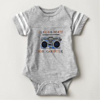 I Like Big Beats Baby Bodysuit
