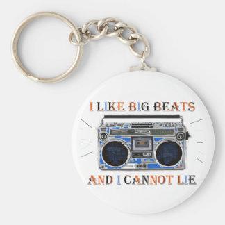 I Like Big Beats Keychain