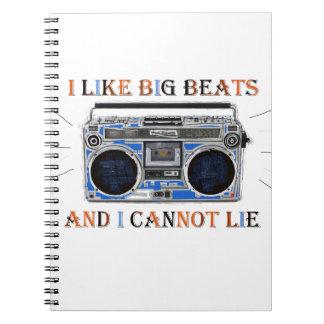 I Like Big Beats Notebook