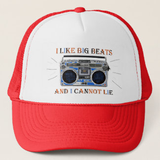 I Like Big Beats Trucker Hat