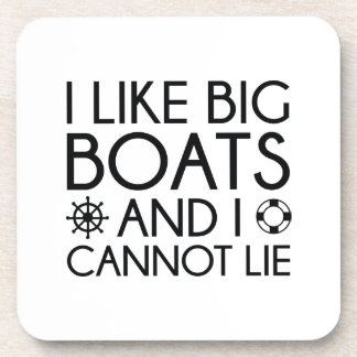 I Like Big Boats Coaster
