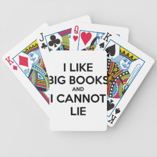 I Like Big Books and I Cannot Lie Poker Deck