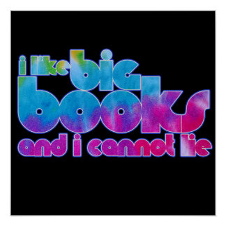 I like big books and I cannot lie Poster