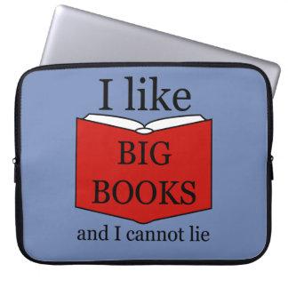 I Like Big Books Laptop Sleeve