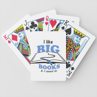 I like Big Books Poker Deck
