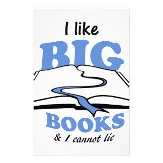I like Big Books Stationery Paper