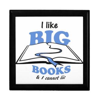 I like Big Books Trinket Boxes