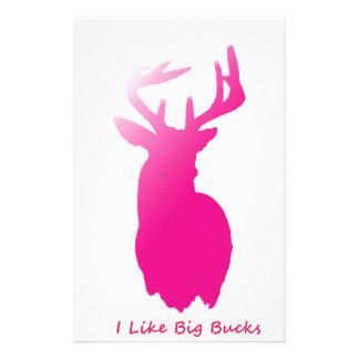 I Like Big Bucks Stationery