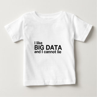 I Like Big Data Baby T-Shirt