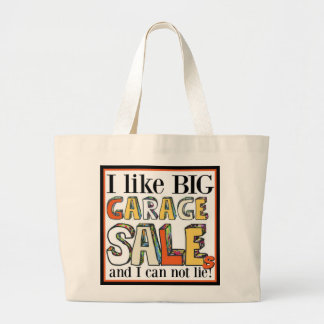 I like Big Garage Sales Jumbo Tote