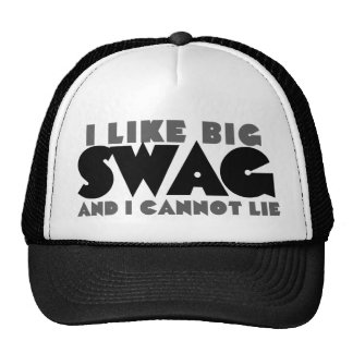 I like big swag and I cannot lie Trucker Hat