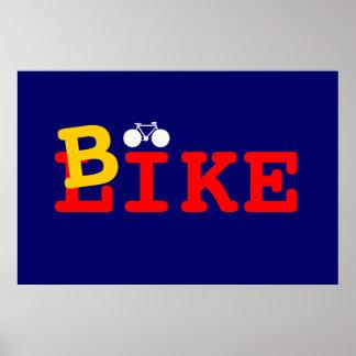 I like bike poster
